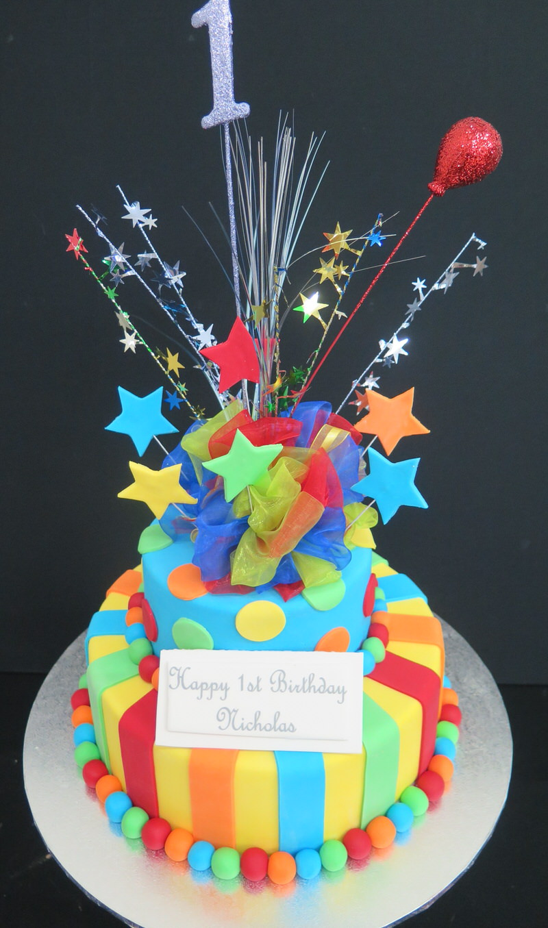 Circus & Circus Tent - Eiffel Tower Cakes