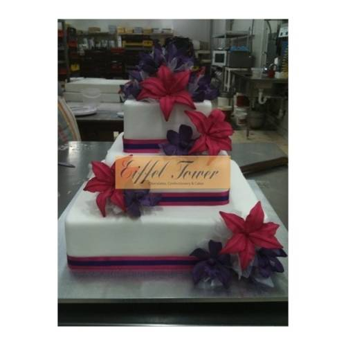 Scattered Lilies - Three Tiers-349