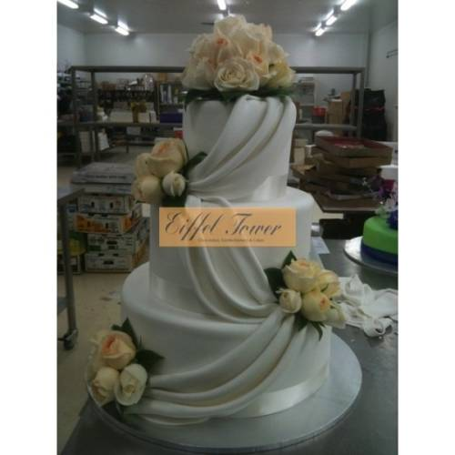 Draped Pearls - Three Tiers-355